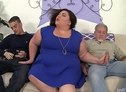 Fleshy acquires her obese pest double-penetrated