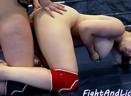 Busty oriental drilled hard by dong compare arrive wrestling