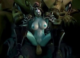 FapZone // Sylvanas (World be required of Warcraft)