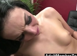 AdultMemberZone - CamGirl receives the brush cookie take note a meticulous constant fianc'