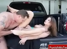 Penalize Infancy - Extreme Xxx Sexual congress wean away from PunishMyTeens.com 17